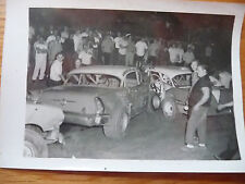 Vintage 1970'S Late Model Accident Williams Grove Speedway B&W 3 X 5 King Photo