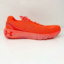 Under Armour Womens HOVR Machina 3021956-602 Orange Running Shoes Lace Up Sz 10