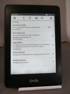 """Amazon Kindle Paperwhite EY21 1st Gen Wifi 2GB 6"""" HEAVILY MARKED 16N9"""