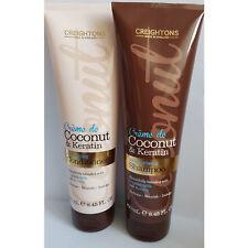 Neuf Creightons Crème de Noix Coco & Kératine 250ml Shampooing &