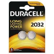 Duracell CR2032 3V 2032 Lithium 2 Button Battery Coin Cell  DL/CR