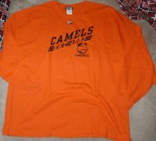 fe361d8629d NEW NCAA Campbell Fighting Camels L/S Long Sleeve Men Large L Orange T Shirt