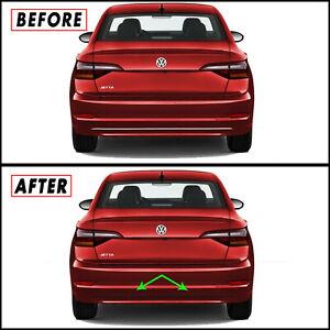 Chrome Delete Blackout Overlay for 2019-21 Volkswagen Jetta MK7 Diffuser Trim