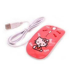 Hello Kitty wired USB 1200DPI computer mouse