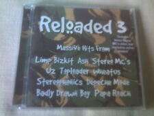 RELOADED 3 - 2 CD ALBUM - MUSE/U2/ASH/STEREOPHONICS/DEPECHE MODE/WHEATUS/SHED 7