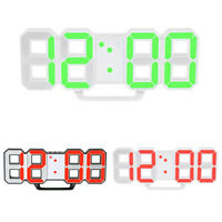 Reloj de Pared Led Reloj de Mesa Reloj Despertador Digital Con Pantalla Led Y5G5