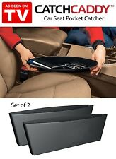2 POCKET OF CATCH CADDY CAR SEAT ORGANIZER STORE STOP ITEM DROP AS SEEN ON TV