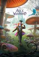 """ALICE IN WONDERLAND - MOVIE POSTER / PRINT (THE MAD HATTER) (SIZE: 27"""" X 39"""")"""