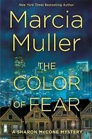 A Sharon Mccone Mystery: The Color of Fear by Marcia Muller (2017, Hardcover)