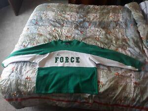 Vintage Chase Authentics XXL John Force Sweatshirt NHRA  Castrol GTX Never Worn