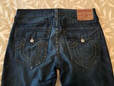 TRUE RELIGION Men's RICKY Destroyed Distressed Jeans 34 Retail $278