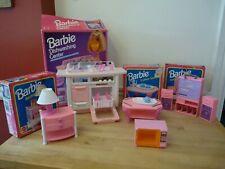 LARGE Barbie furniture bundle dishwasher tables entertainment centre microwave