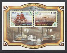 St Thomas & Prince Island 1984 Sc#756e Savannah/City of Worcester MNH S/S $14