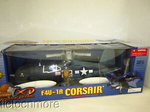 ULTIMATE SOLDIER XD WWII F4U-1A CORSAIR PLANE MODEL LARGE 1:18 NRFB BOXED