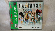 Final Fantasy IX - Jewel Case with Manual - Great Condition!