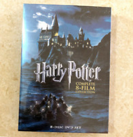 Harry Potter: Complete 8-Film Collection DVD (8-Disc Set, 2011, NEW) Sealed