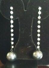 Avon Glam Star Earrings - grey