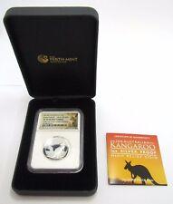 2016 Australian Kangaroo 1 Ozt Silver Proof High Relief Coin