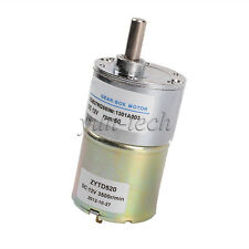 New 12V DC 60 RPM High Torque Gear Box Speed Control Electric Motor Reversible