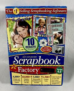 Nova Development Art Explosion Scrapbook Factory Deluxe 4.0