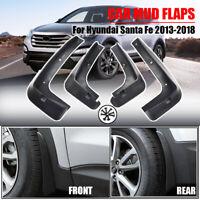 Splash Guards Mudguards Mud Flaps For Hyundai Santa Fe 2013-2018 DM Mudflaps XL