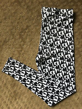RARE Black Milk Clothing Fresh Prints HWMF Leggings (Blackmilk Large)