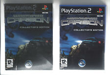 NEED FOR SPEED CARBON COLLECTOR'S EDITION for Playstation 2 PS2 - with cardboard