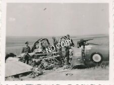 Foto WK 2  Wrack Militär Flugzeug France  Absturz Soldaten  B 1.82