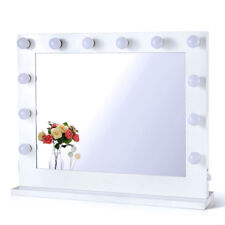 Hollywood Lighted Makeup Vanity Mirror With Lights 14 LED Dimmable Bulbs