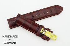 18mm/18 XS Original Chronoswiss Brown Alligator Watch Strap Watchband Band