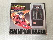 1980# BANDAI ELECTRONICS CHAMPION RACER HANDHELD LED LSI  GAME RARE#NIB
