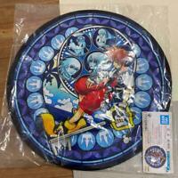 Kingdom Hearts Stained Glass Art Rug Mat Ichiban Kuji Prize Square Enix 60cm
