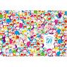 "Doraemon 1000 Pieces Jigsaw Puzzle 50th Anniversary Colorful Doraemon 21""×29"""