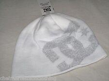 BNWT - DC SHOES Big Star Beanie Hat   White