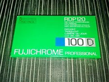 Pack of 5 FUJICHROME PROFFESIONAL 100D roll film RDP 120 EXPIRED 07/1990