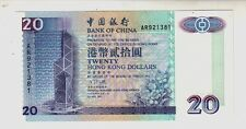 Hong Kong $ 20  1994   FDS  UNC   Pick 329a  rif 1763
