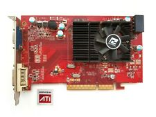 AGP vintage videocard PowerColor ATI Radeon HD3450 512MB 64BIT AG 3450 512MD2