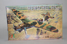 ITALAEREI GERMAN NAZI HENSCHEL HS126, 1:72 SCALE, BOXED