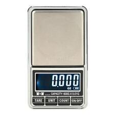 600g/0.01g Mini LCD Electronique Balance de bijoux de précision de poche R0O5