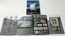 Greenland Post Official Year Set 1999 Complete with 2 Blocks & Viking Set - MNH