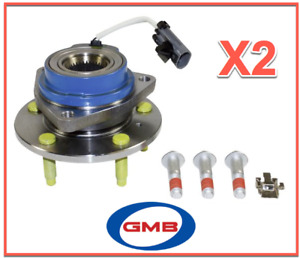 2 Wheel Bearing & Hub Assembly Front Left & Right for Buick Chevy Pontiac Pair
