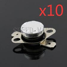 10 pcs Temperature Switch Control Sensor Thermal Thermostat 85°C N.C. KSD301
