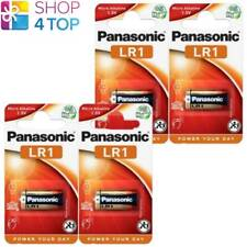 4 PANASONIC CELL POWER ALKALINE LR1 LR01 BATTERIES KN AM5 4001 EXP 2022 NEW