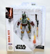 "Diamond Select Star Wars BOBA FETT  7"" Action Figure Disney Store Exclusive NEW"