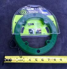 "Greenlee 438-5h Steel Fish Tape In Winder Case 1/8"" X 50'"