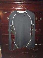 Iw Sports Mens Black Athletic Shirt, Size M