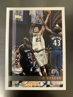 Tim Duncan Topps Basketball Card 1997 Spurs English NM-EX Rookie
