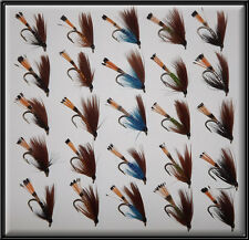25 MALLARDS TROUT SCOTTISH HAND TIED FISHING FLIES WET TEAL FLY for rod reel 8's