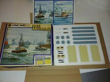 Minic Ships Die Cast Model Kit 1: 1200 M904 Fleet Anchorage Made by Hornby