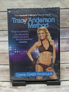 Tracy Anderson Method Dance Cardio Workout 2 DVD Exercise Fitness UK New Sealed